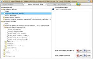 Módulo de documentación para la adaptación RGPD
